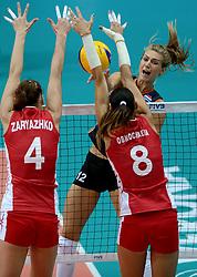27-09-2014 ITA: World Championship Volleyball Rusland - Nederland, Verona<br /> Nederland verliest met 3-1 van Rusland / Manon Flier