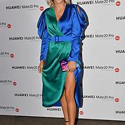 Ashley James attend Huawei - VIP celebration at One Marylebone London, UK. 16 October 2018.