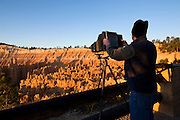 Photographer, Bryce Canyon National Park, Utah