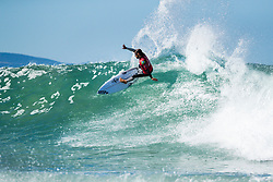 Tomas Hermes (BRA) advances to Round 3 of the 2018 Corona Open J-Bay after winning Heat 12 of Round 2 at Supertubes, Jeffreys Bay, South Africa.