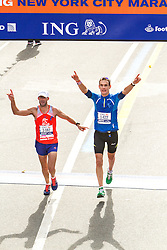 ING New York CIty Marathon: Leon Shlomo, Marc Wagner finish race