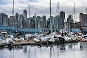 Coal Harbour, Vancouver, British Columbia, Canada.