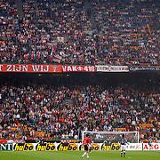 NLD/Amsterdam/20050805 - Johan Cruijffschaal 2005, PSV - Ajax, veld, Arena, F-side, Ajax fans