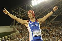 ATHLETICS - IAAF VTB BANK CONTINENTAL CUP 2010 - SPLIT (CRO) - 04-05/09/2010 - PHOTO : STEPHANE KEMPINAIRE / DPPI - <br /> JAVELIN - ANDREAS THORKILDSEN (NOR)