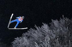 19.01.2018, Heini Klopfer Skiflugschanze, Oberstdorf, GER, FIS Skiflug Weltmeisterschaft, Einzelbewerb, im Bild Ryoyu Kobayashi (JPN) // Ryoyu Kobayashi of Japan during individual competition of the FIS Ski Flying World Championships at the Heini-Klopfer Skiflying Hill in Oberstdorf, Germany on 2018/01/19. EXPA Pictures © 2018, PhotoCredit: EXPA/ JFK