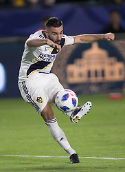 May 30, 2018 - Carson, California, U.S - Romain Alessandrini #7 of the LA Galaxy during their MLS game against FC Dallas on Wednesday, May 30, 2018 at the Stub Hub Center in Carson, California. LA Galaxy Lose to FC Dallas, 2-3. (Credit Image: © Prensa Internacional via ZUMA Wire)