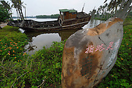 The harbour where the Maritime Silk Road started, during many centuries, near Xu Wen, Guangdong province, China
