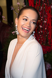 Rita Ora attends Fifty Shades Freed world premiere at Salle Pleyel on February 06, 2018 in Paris, France. Photo by Nasser Berzane/ABACAPRESS.COM