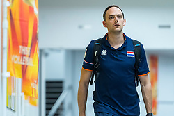 19-10-2018 JPN: Semi Final World Championship Volleyball Women day 20, Yokohama<br /> Serbia - Netherlands / Assistent Coach Eelco Beijl of Netherlands