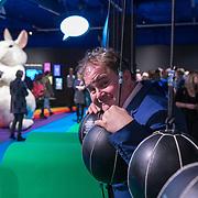 NLD/Hilversum/20190207- Opening Serieus Grappig tentoonstelling, directeur Eppo van Nispen tot Sevenaer