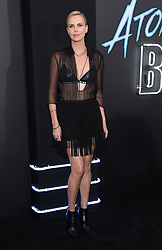 July 24, 2017 - Los Angeles, California, U.S. - Charlize Theron arrives for the premiere of the film 'Atomic Blonde' at the Ace theater. (Credit Image: © Lisa O'Connor via ZUMA Wire)
