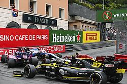 May 26, 2019 - Monte Carlo, Monaco - Motorsports: FIA Formula One World Championship 2019, Grand Prix of Monaco, ..Collision, #88 Robert Kubica (POL, ROKiT Williams Racing), #99 Antonio Giovinazzi (ITA, Alfa Romeo Racing), #11 Sergio Perez (MEX, Racing Point F1 Team), #27 Nico Hulkenberg (GER, Renault F1 Team) (Credit Image: © Hoch Zwei via ZUMA Wire)
