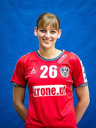 28.05.2016, BSFZ Südstadt, Maria Enzersdorf, AUT, ÖHB, Fototermin Frauen Nationalteam, im Bild Claudia Wess // during the Team and Portrait Photoshoot of the Austrian women' s handball National Team at the BSFZ Südstadt, Maria Enzersdorf, Austria on 2016/05/28, EXPA Pictures © 2016, PhotoCredit: EXPA/ Sebastian Pucher