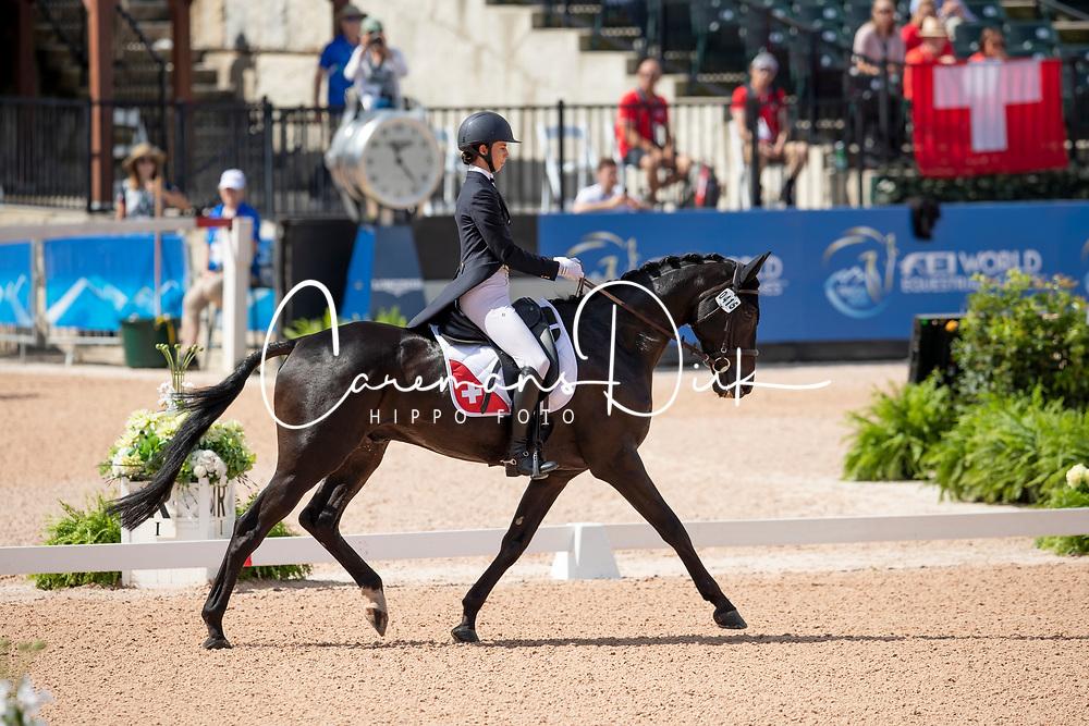 Attinger Patrizia, SUI, Hilton P<br /> World Equestrian Games - Tryon 2018<br /> © Hippo Foto - Dirk Caremans<br /> 13/09/2018