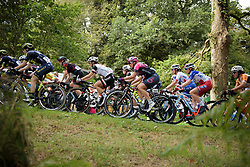 Alison Jackson on lap one at Grand Prix de Plouay Lorient Agglomération a 121.5 km road race in Plouay, France on August 26, 2017. (Photo by Sean Robinson/Velofocus)