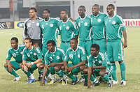 Photo: Steve Bond/Richard Lane Photography.<br /> Nigeria v Mali. Africa Cup of Nations. 25/01/2008. Nigeria line up