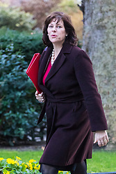London, January 16 2018. Minister of State at Department for Business, Energy and Industrial Strategy Claire Perry attends the UK cabinet meeting at Downing Street. © Paul Davey