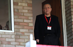 """West Ham United co owner David Sullivan in the stands before the Carabao Cup, Second Round match at the LCI Rail Stadium, Cheltenham. PRESS ASSOCIATION Photo. Picture date: Wednesday August 23, 2017. See PA story SOCCER Cheltenham. Photo credit should read: Andrew Matthews/PA Wire. RESTRICTIONS: EDITORIAL USE ONLY No use with unauthorised audio, video, data, fixture lists, club/league logos or """"live"""" services. Online in-match use limited to 75 images, no video emulation. No use in betting, games or single club/league/player publications."""