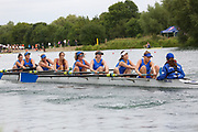 Race: 126  W.8+ (Band 1)  Final<br /> <br /> Peterborough Summer Regatta 2018 - Sunday<br /> <br /> To purchase this photo, or to see pricing information for Prints and Downloads, click the blue 'Add to Cart' button at the top-right of the page.
