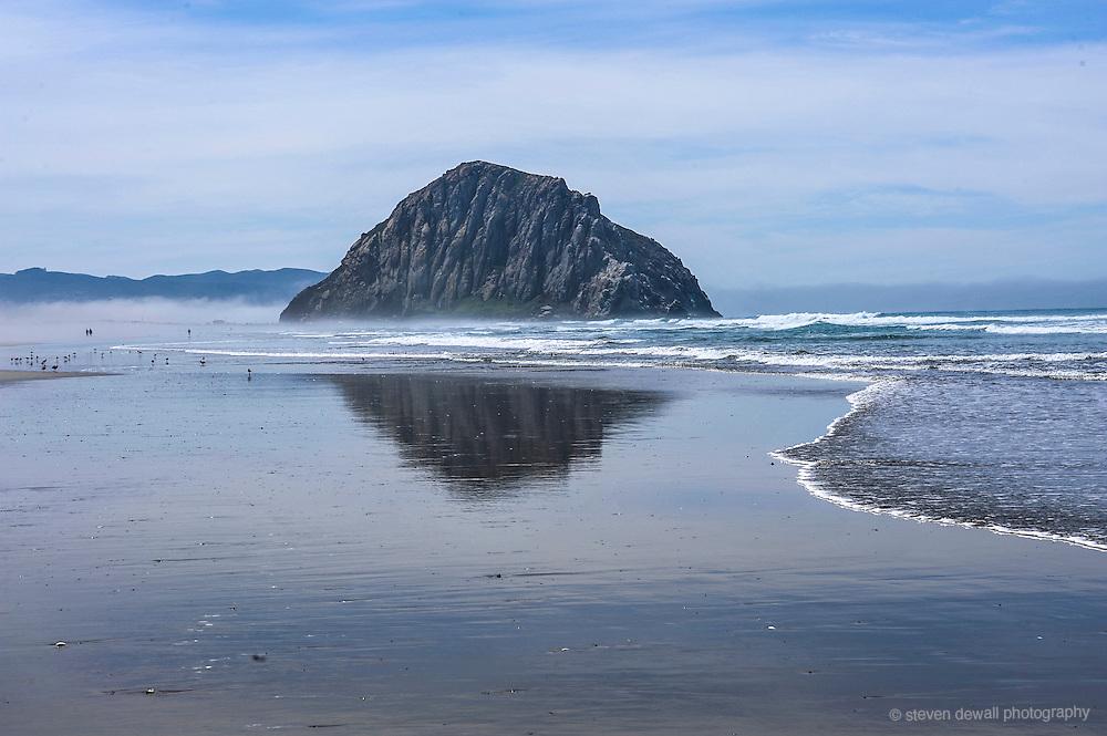 California Central Coast Morro Rock