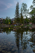 Lake View Mountain Lodging at the Canadian Rockies in Canada
