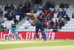 June 21, 2019 - Leeds, Yorkshire, United Kingdom - Kusal Mendis of Sri Lanka during the ICC Cricket World Cup 2019 match between England and Sri Lanka at Headingley Carnegie Stadium, Leeds on Friday 21st June 2019. (Credit Image: © Mi News/NurPhoto via ZUMA Press)