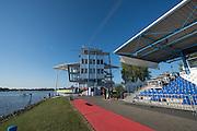 Brandenburg. GERMANY.<br /> Finish Tower, 2016 European Rowing Championships at the Regattastrecke Beetzsee<br /> <br /> Sunday  08/05/2016<br /> <br /> [Mandatory Credit; Peter SPURRIER/Intersport-images]