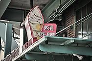 Ice cream shop outside of Fenway Park.