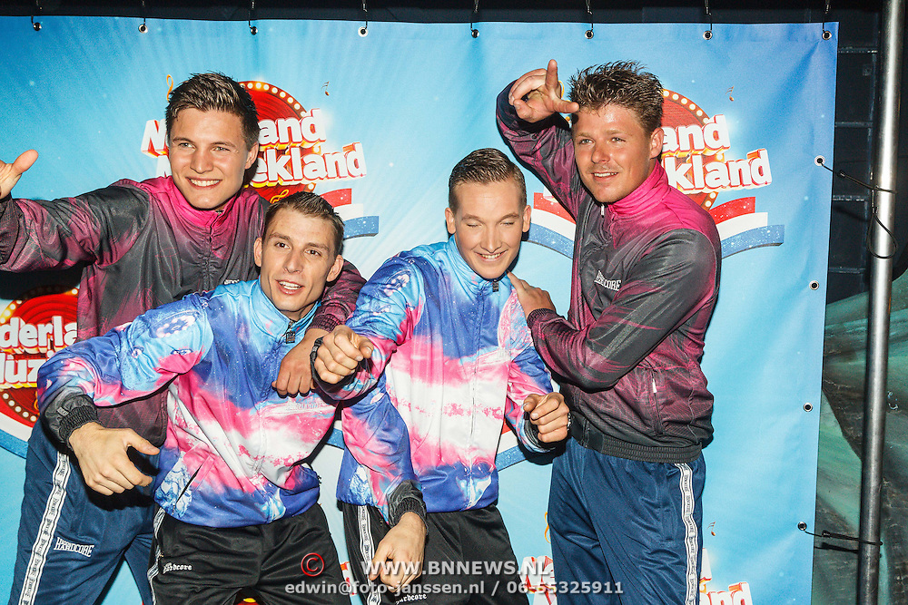 NLD/Aalsmeer/20150509 - Opname Nederland Muziekland, Party Animals
