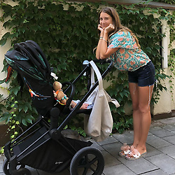 "Cathy Fischer releases a photo on Instagram with the following caption: ""Mama geht Lebensmittel und alles f\u00fcr Ludwig einkaufen - Lieblingsoutfit? Hauptsache bequem, aber ein bisschen stylisch darf es auch sein \ud83d\ude0d"". Photo Credit: Instagram *** No USA Distribution *** For Editorial Use Only *** Not to be Published in Books or Photo Books ***  Please note: Fees charged by the agency are for the agency's services only, and do not, nor are they intended to, convey to the user any ownership of Copyright or License in the material. The agency does not claim any ownership including but not limited to Copyright or License in the attached material. By publishing this material you expressly agree to indemnify and to hold the agency and its directors, shareholders and employees harmless from any loss, claims, damages, demands, expenses (including legal fees), or any causes of action or allegation against the agency arising out of or connected in any way with publication of the material."