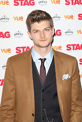 © Licensed to London News Pictures. 13/03/2014, UK. Jim Chapman, The Stag - Gala Screening, Vue Cinema Leicester Square, London UK, 13 March 2014. Photo credit : Richard Goldschmidt/Piqtured/LNP