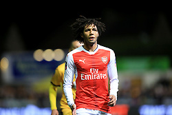 20 February 2017 - The FA Cup - (5th Round) - Sutton United v Arsenal - Mohamed Elneny of Arsenal - Photo: Marc Atkins / Offside.