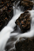 Water Flowing Over Rocks in Seven Tubs