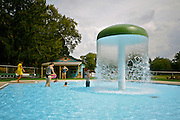 West Reading Swimming Pool and Park, Child's  Pool, Mothers and children