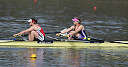 Caversham  Great Britain.<br /> Bow. Carach MCMURTRY and Rebecca CHIN.<br /> 2016 GBR Rowing Team Olympic Trials GBR Rowing Training Centre, Nr Reading  England.<br /> <br /> Tuesday  22/03/2016 <br /> <br /> [Mandatory Credit; Peter Spurrier/Intersport-images]