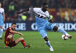 March 2, 2019 - Rome, Lazio, Italy - SS Lazio v As Roma : Serie A.Felipe Caicedo of Lazio at Olimpico Stadium in Rome, Italy on March 2, 2019. (Credit Image: © Matteo Ciambelli/NurPhoto via ZUMA Press)