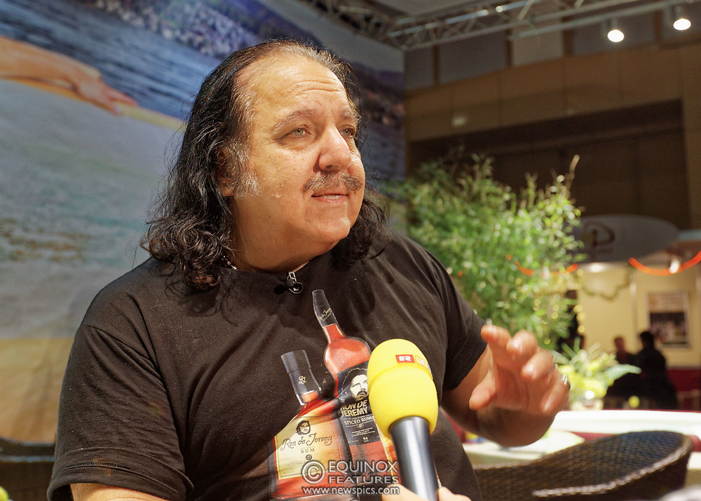 Berlin, Germany - 18 October 2012<br /> Porn star Ron Jeremy promoting his 'Ron Jeremy' brand of rum at the Venus Berlin 2012 adult industry exhibition in Berlin, Germany. Ron Jeremy, born Ronald Jeremy Hyatt, has been an American pornographic actor since 1979. He faces sexual assault allegations which he strenuously denies. There is no suggestion that any of the people in these pictures have made any such allegations.<br /> www.newspics.com/#!/contact<br /> (photo by: EQUINOXFEATURES.COM)<br /> Picture Data:<br /> Photographer: Equinox Features<br /> Copyright: ©2012 Equinox Licensing Ltd. +448700 780000<br /> Contact: Equinox Features<br /> Date Taken: 20121018<br /> Time Taken: 12150288