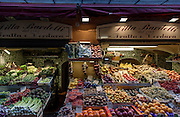 Bologna, Fruit shop in the city center
