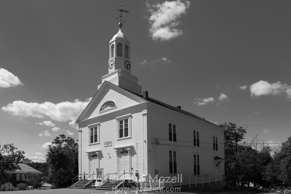 The Third Meeting House, built 1829 in North Reading, Massachusetts. Now, The Edith A. O'Leary Senior Center