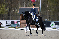 Cornelissen Adelinde, NED, Aqiedo<br /> CDI 3* Opglabeek<br /> © Hippo Foto - Dirk Caremans<br />  23/04/2021