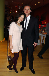 GARY & LAUREN KEMP at a Burns Night supper in aid of Clic Sargent & Children's Hospital Association Scotland hosted by Ewan McGregor, Sharleen Spieri and Lady Helen Taylor at St.Martin's Lane Hotel, 45 St Martin's Lane, London on 25th January 2006.<br />