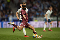 March 22, 2019 - Madrid, Madrid, Spain - Roberto Rosales (Espanyol) of Venezuela does passed during the international friendly match between Argentina and Venezuela at Wanda Metropolitano Stadium in Madrid, Spain on March 22 2019. (Credit Image: © Jose Breton/NurPhoto via ZUMA Press)