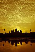 Sunrise at Angkor Wat Temple, Siem Reap, Cambodia