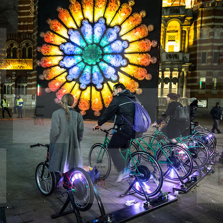 Lumiere London: il festival delle intallazioni luminose edizione 2018<br /> <br /> Lumiere London: the festival of the artwork  light 2018 edition.<br /> <br /> #6d, #photooftheday #picoftheday #bestoftheday #instadaily #instagood #follow #followme #nofilter #everydayuk #canon #buenavistaphoto #photojournalism #flaviogilardoni <br /> <br /> #london #uk #greaterlondon #londoncity #centrallondon #cityoflondon #londontaxi #londonuk #visitlondon<br /> <br /> #photo #photography #photooftheday #photos #photographer #photograph #photoofday #streetphoto #photonews #amazingphoto #blackandwhitephoto #dailyphoto #funnyphoto #goodphoto #myphoto #photoftheday #photogalleries #photojournalist #photolibrary #photoreportage #pressphoto #stockphoto #todaysphoto #urbanphoto<br /> <br /> #lumierelondon #light #festival #lightfestival<br /> #westminster #victoria