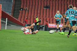 South Africa - Johannesburg, Emirates Airlines Park. 24/08/18  Currie Cup. Lions vs Griquas.<br /> 2nd half.  Picture: Karen Sandison/African News Agency(ANA)