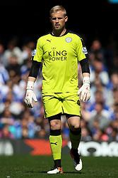 Kasper Schmeichel of Leicester City - Mandatory byline: Jason Brown/JMP - 15/05/2016 - FOOTBALL - London, Stamford Bridge - Chelsea v Leicester City - Barclays Premier League