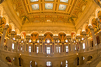 The Great Hall, Thomas Jefferson Building, The Library of Congress, Washington D.C., U.S.A.