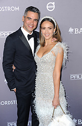 Cash Warren and Jessica Alba at the 2019 Baby2Baby Gala Presented By Paul Mitchell held at the 3LABS in Culver City, USA on November 9, 2019.