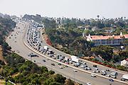 Grid Lock On The 405 Freeway In Orange County