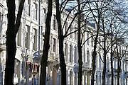 Nederland, Arnhem, 7-1-2015Mooie en statige herenhuizen aan de rand van het Spijkerkwartier2. Het zijn veelal bovenhuizen en benedenhuizen, soms gesplitst in appartementen. Een ervan is te koop.FOTO: FLIP FRANSSEN/ HOLLANDSE HOOGTE